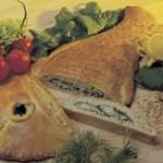 Briósban sült halpástétom
